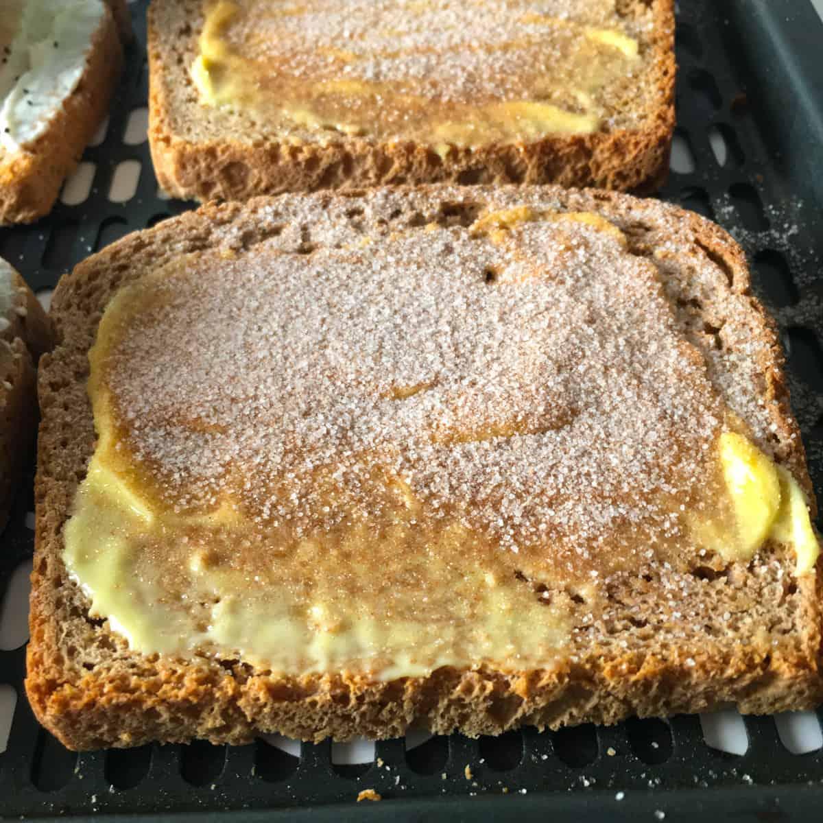 cinnamon toast air fryer