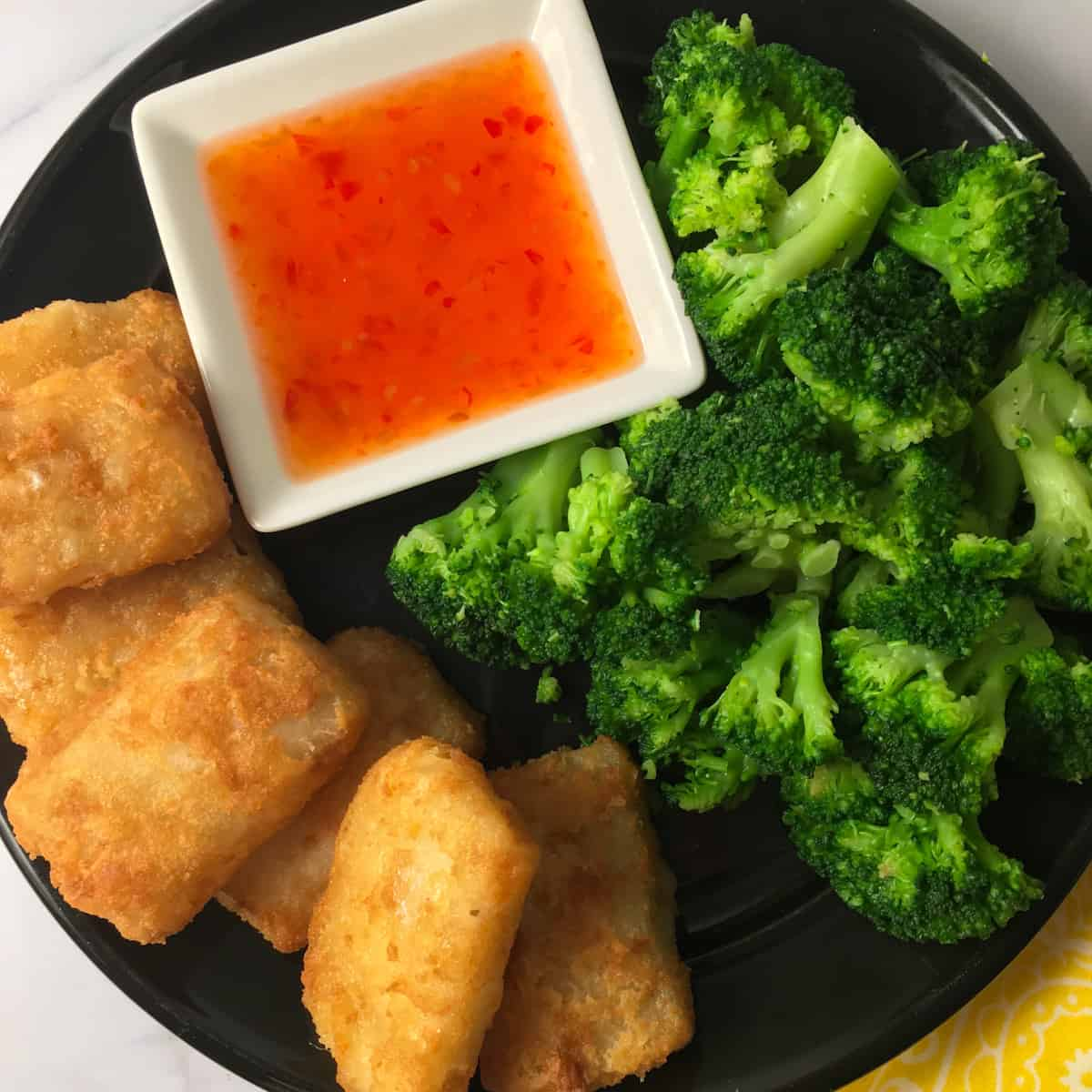 fish nuggets meal