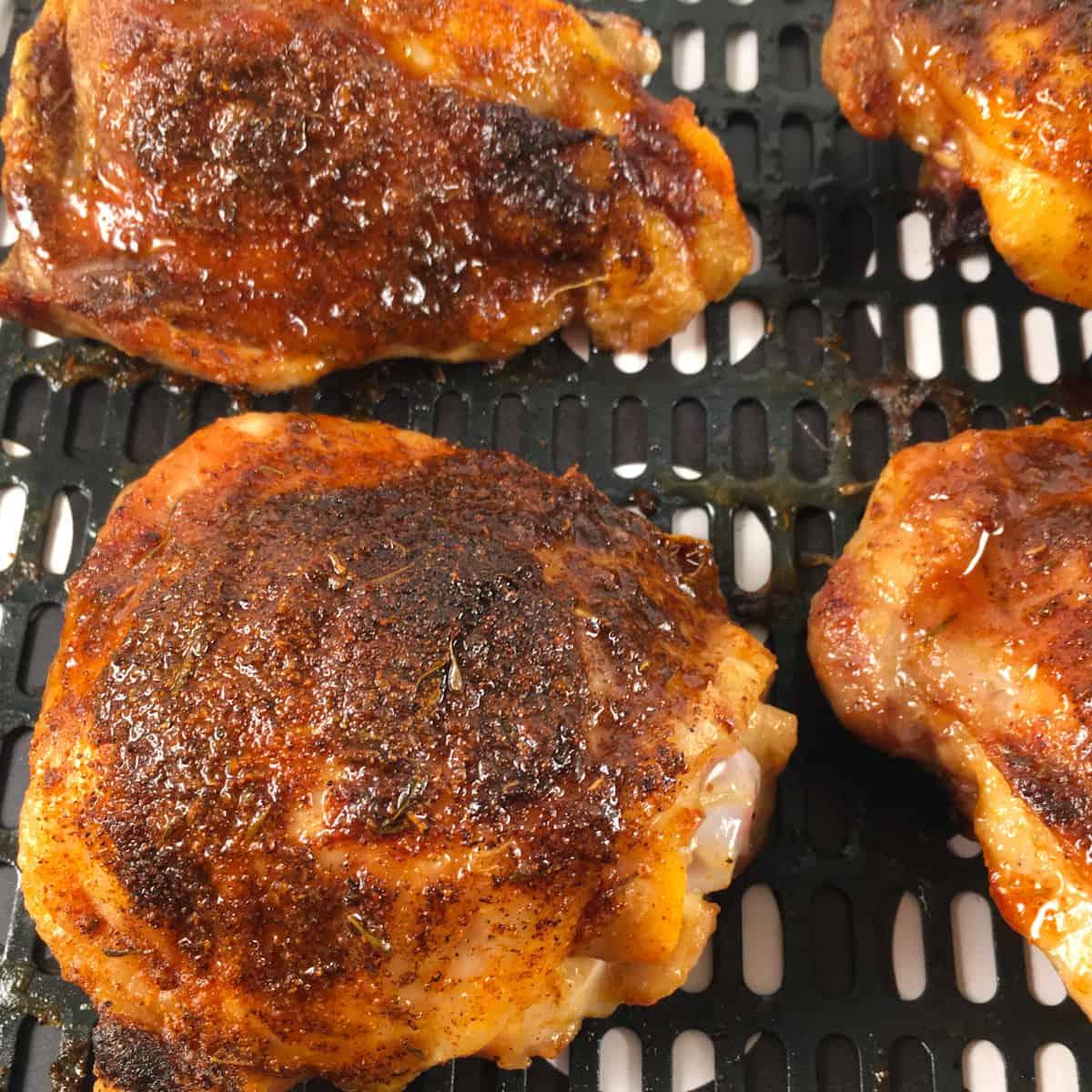frozen chicken thighs in air fryer