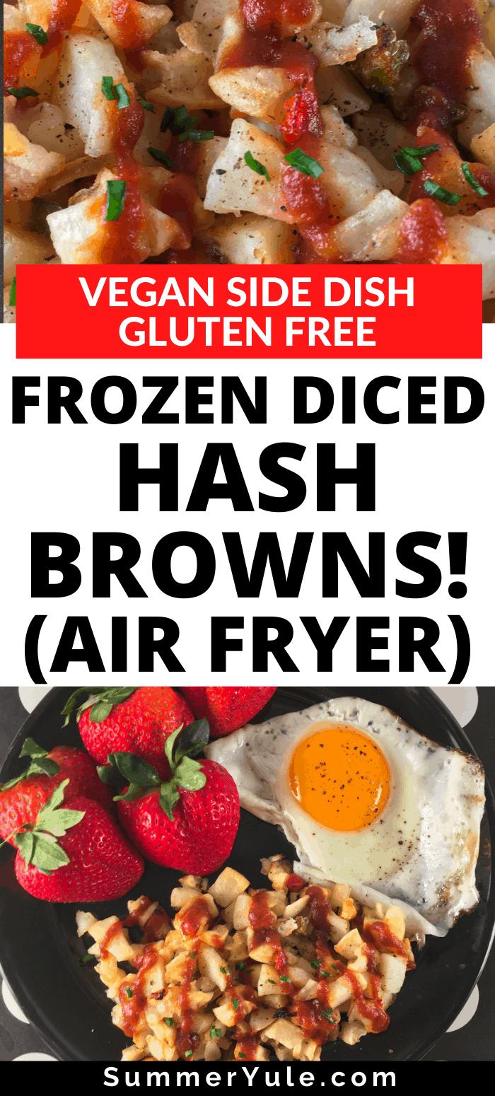 frozen potatoes o brien air fryer
