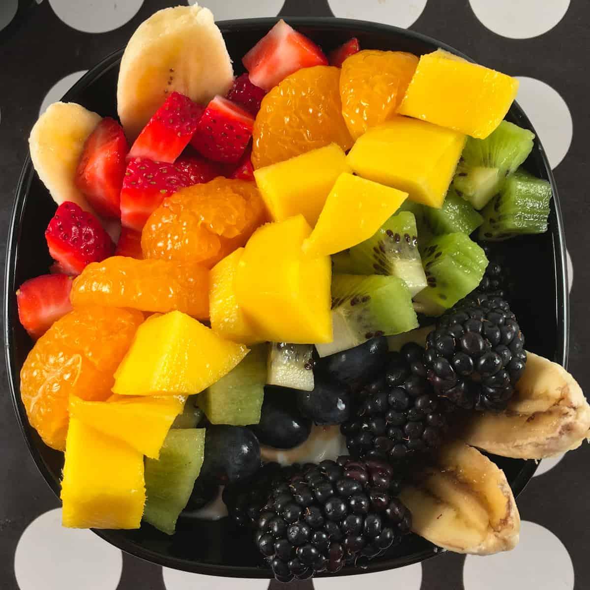 fruit yogurt bowls