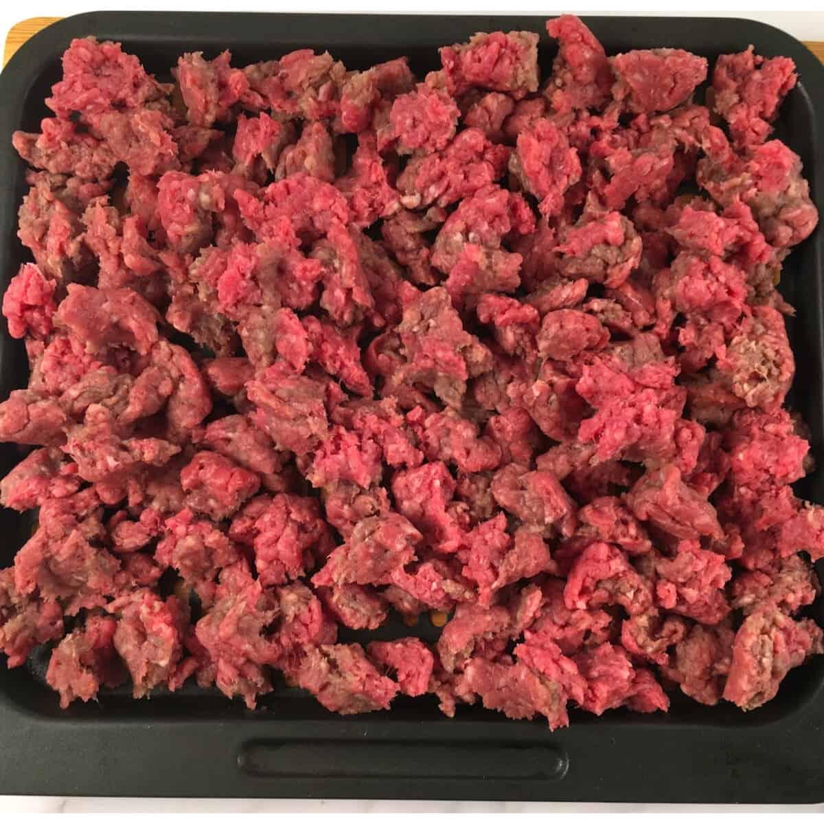 ground beef in air fryer
