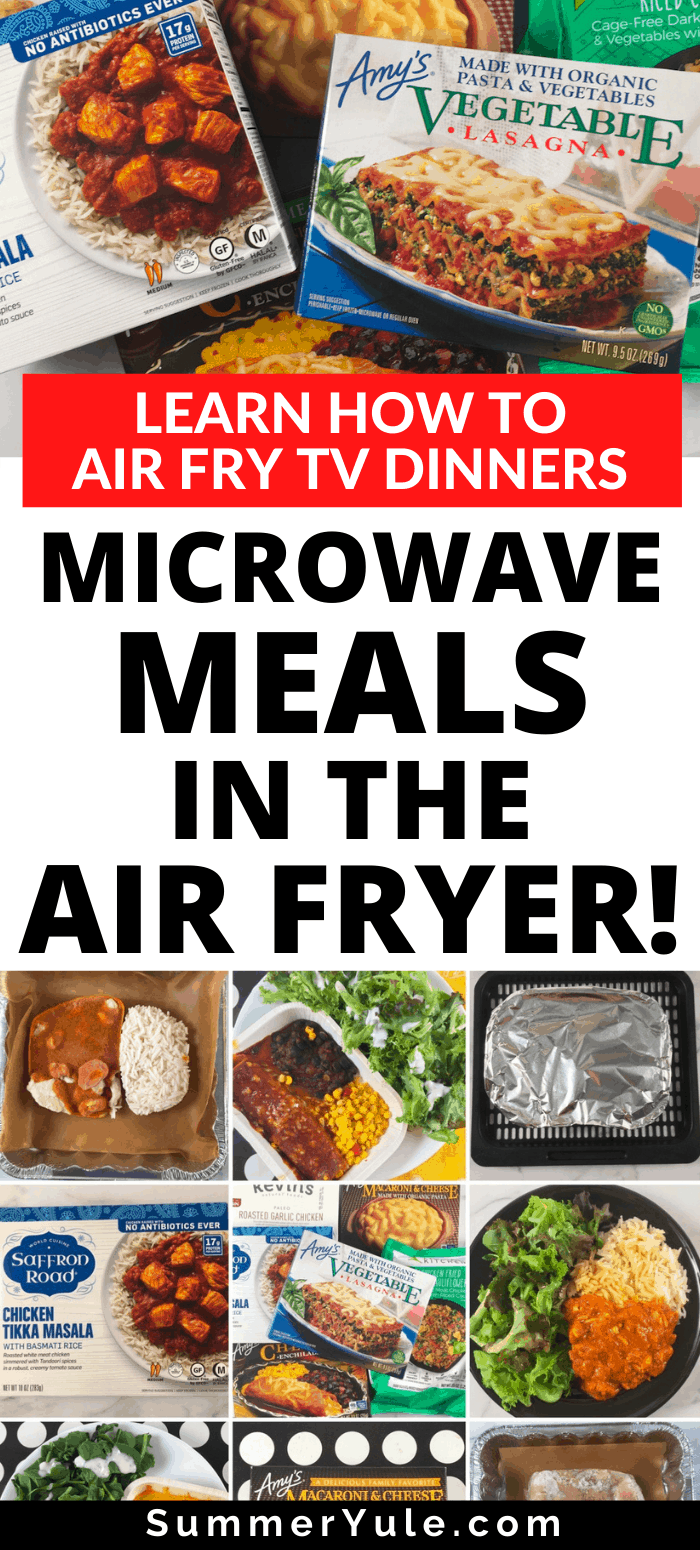 how to air fry tv dinners