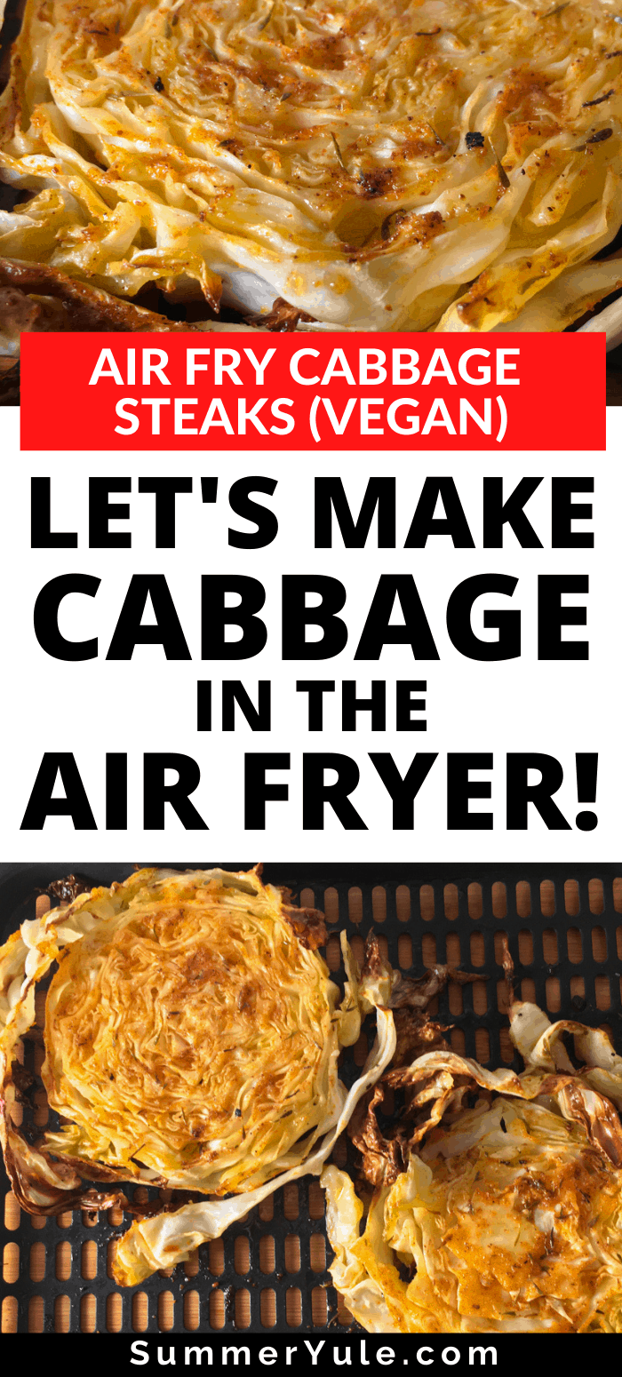 make cabbage air fryer