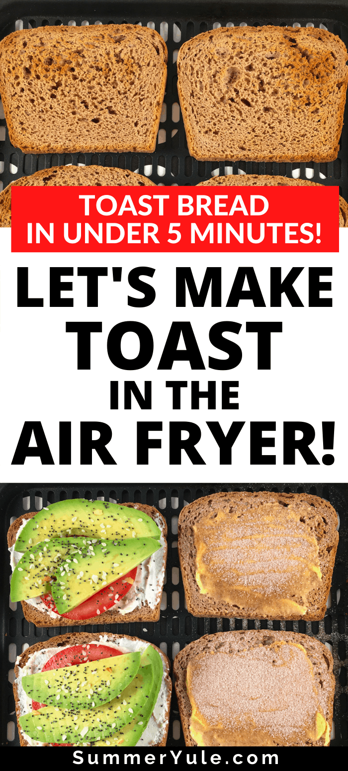 make toast air fryer