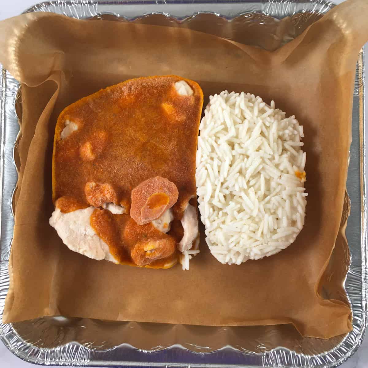 microwave dinner in air fryer
