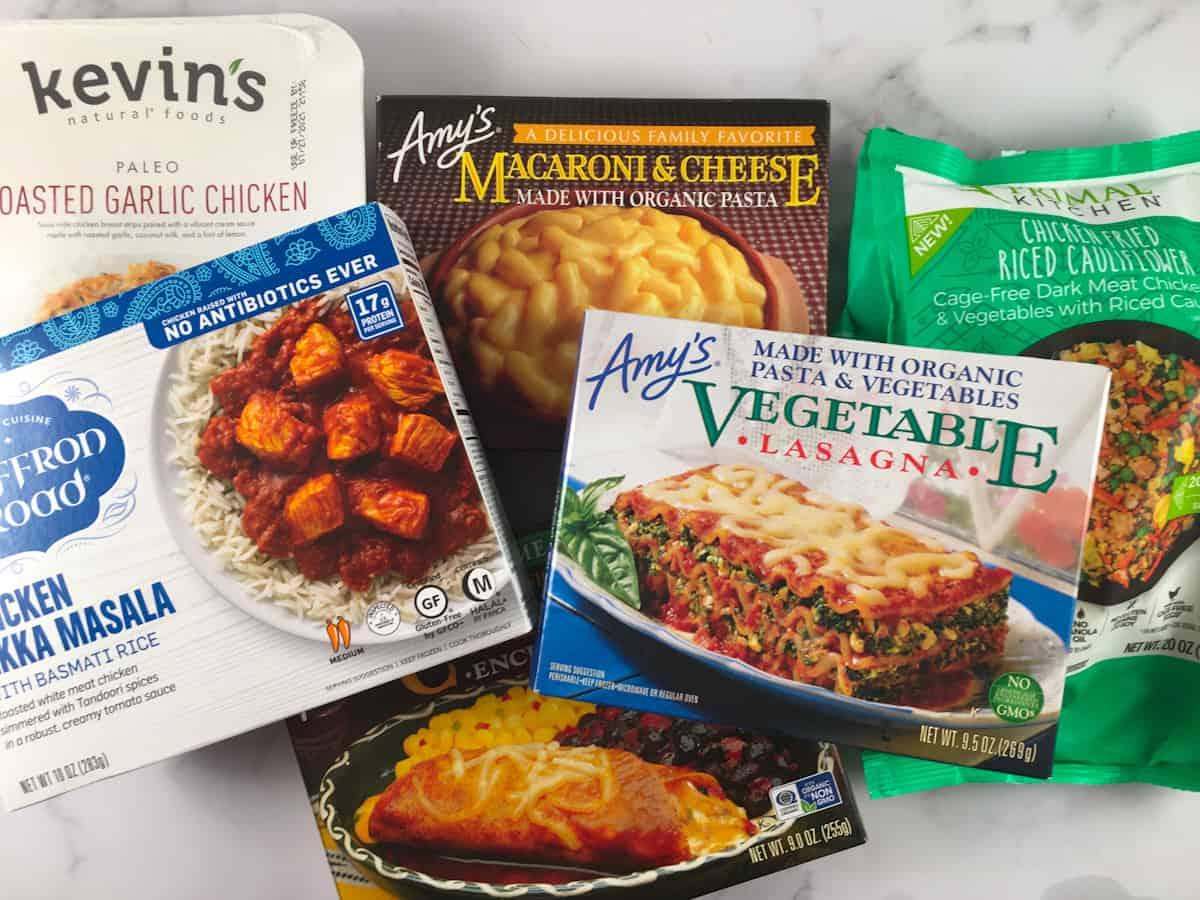 microwave meals in airfryer