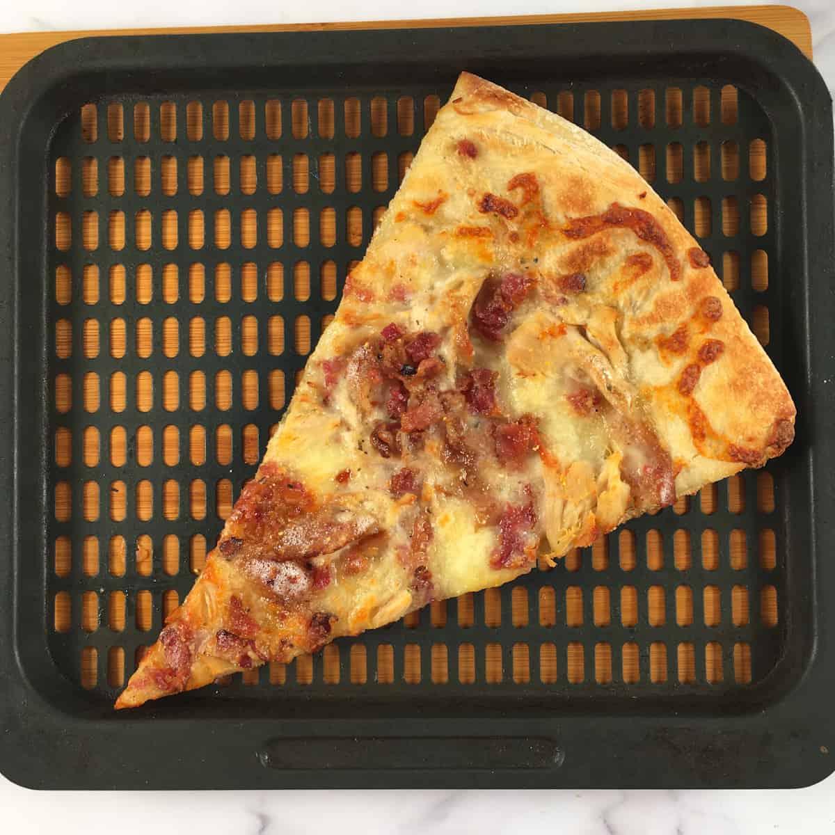 reheat pizza slice air fryer