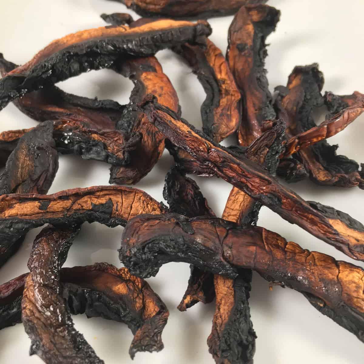 smoked mushroom jerky