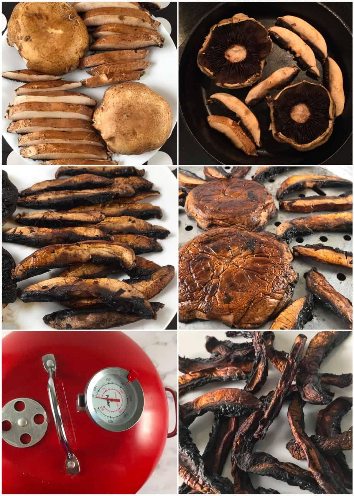 smoked mushrooms steps
