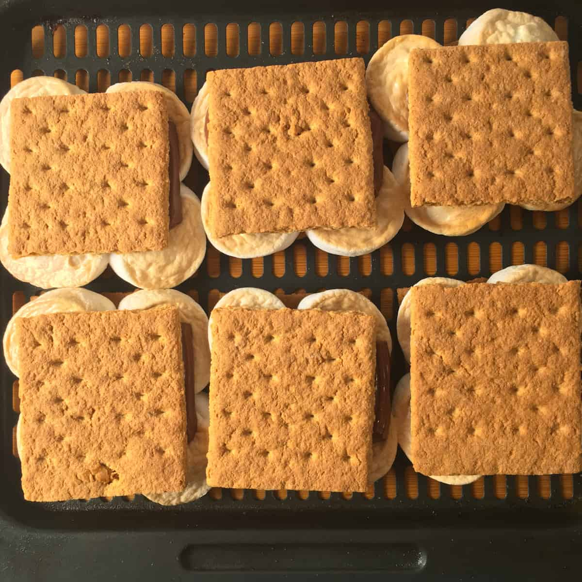 smores in air fryer