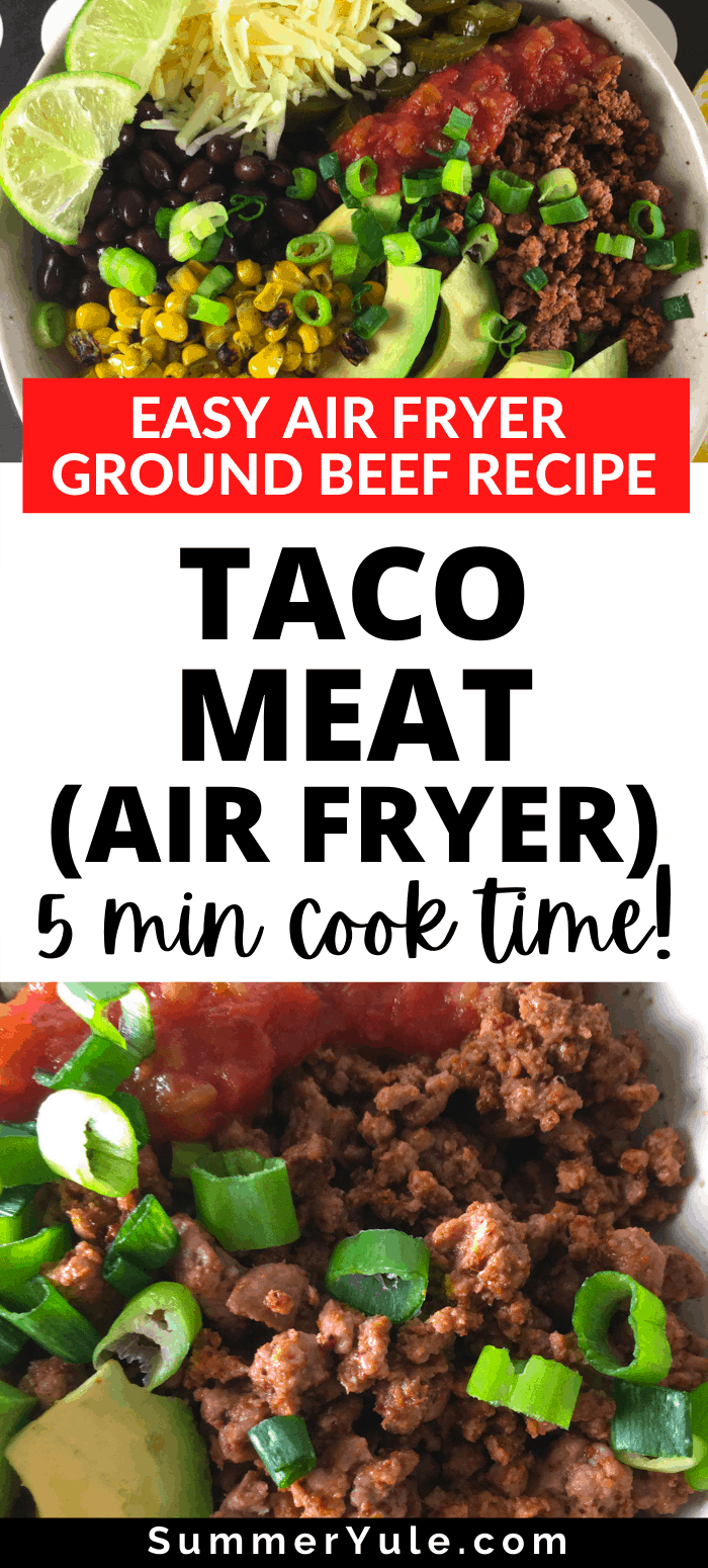 taco meat airfryer
