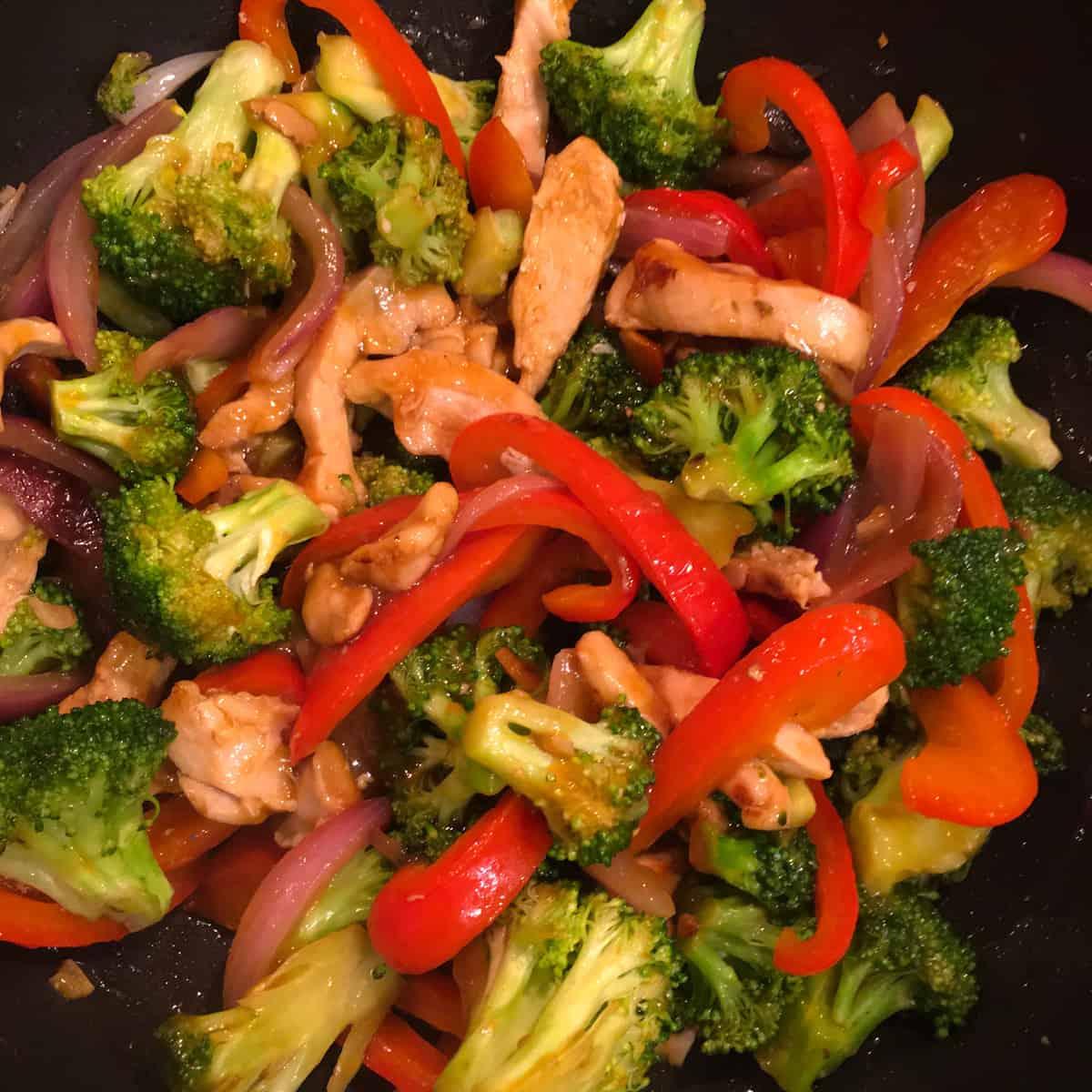 3 ingredient stir fry sauce recipe