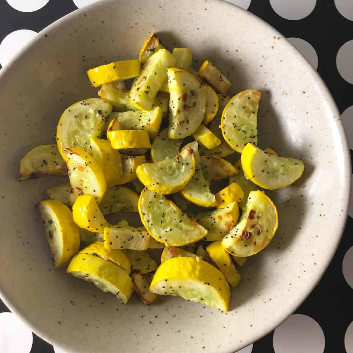 air fried yellow squash