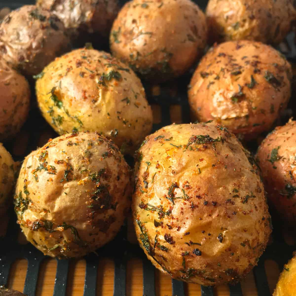 air fry baby potatoes