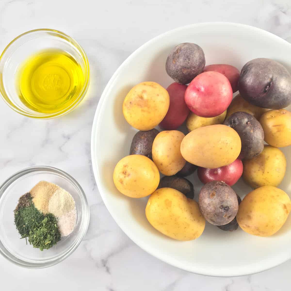 air fryer baby potatoes ingredients