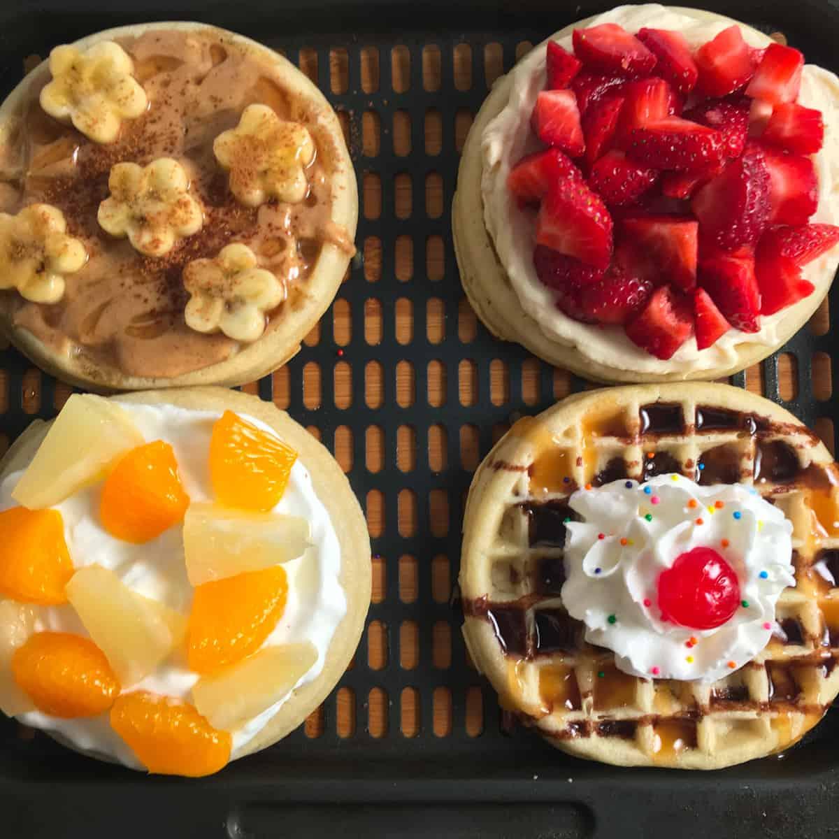 air fryer eggo waffles