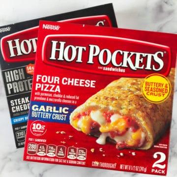 air fryer hot pockets