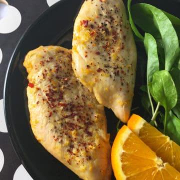 air fryer marinated chicken