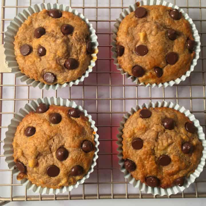 air fryer muffins