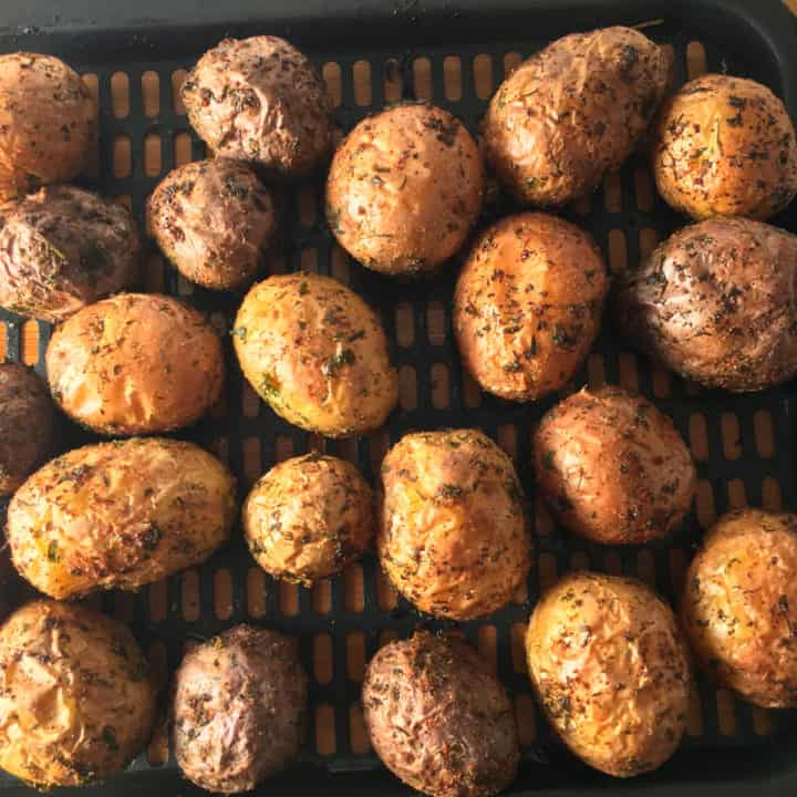 baby potatoes air fryer recipe