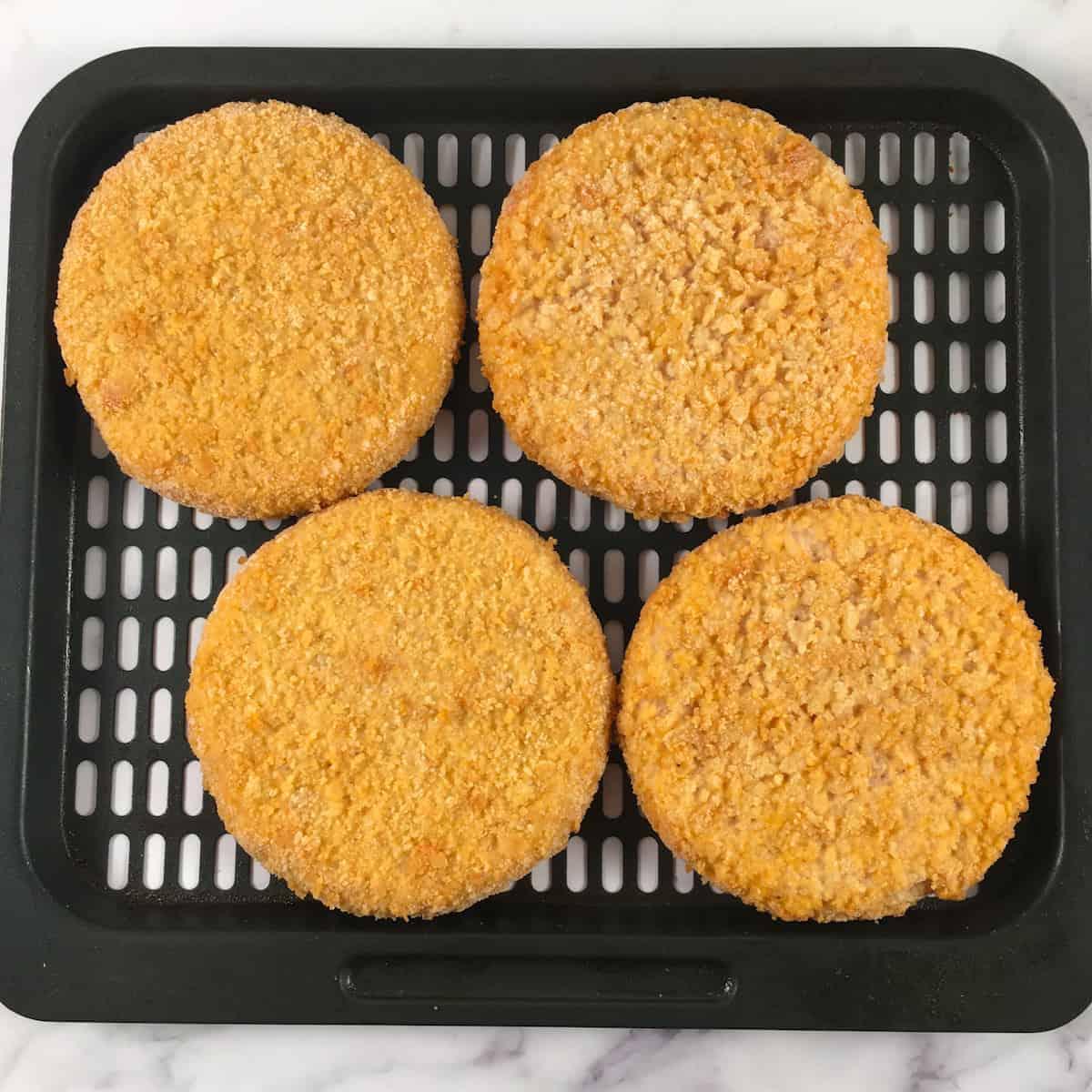 frozen chicken patties air fryer