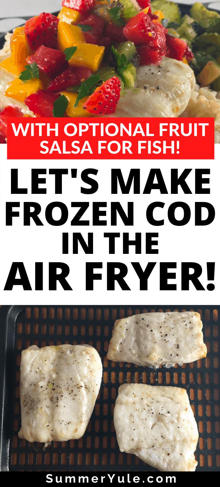 frozen cod fillets air fryer