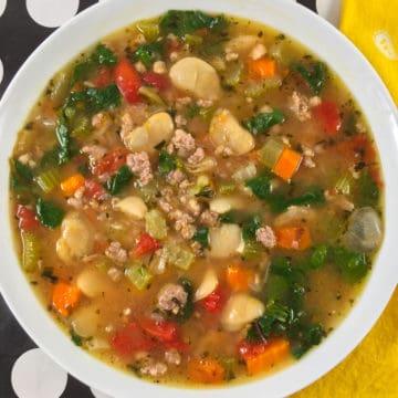 instant pot italian sausage soup