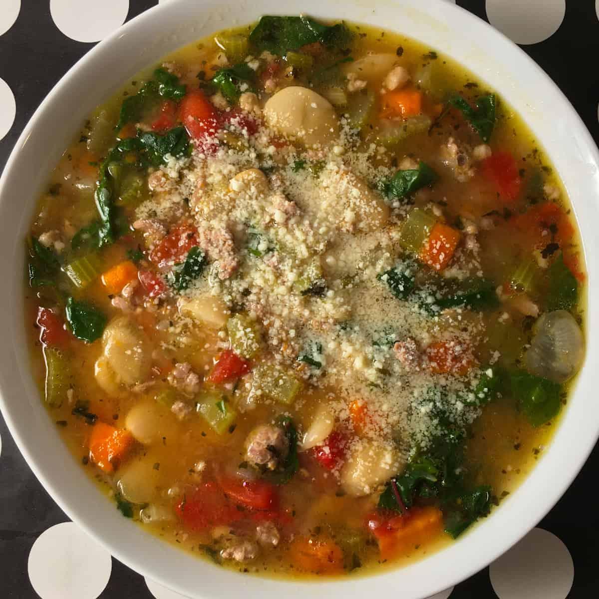 instant pot italian sausage soup recipe