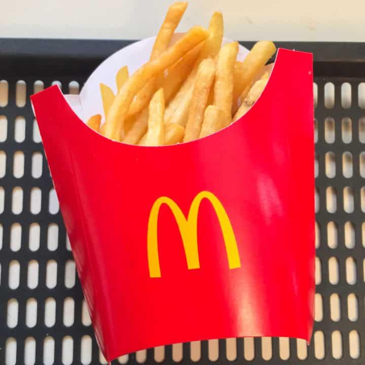 leftover mcdonalds fries air fryer