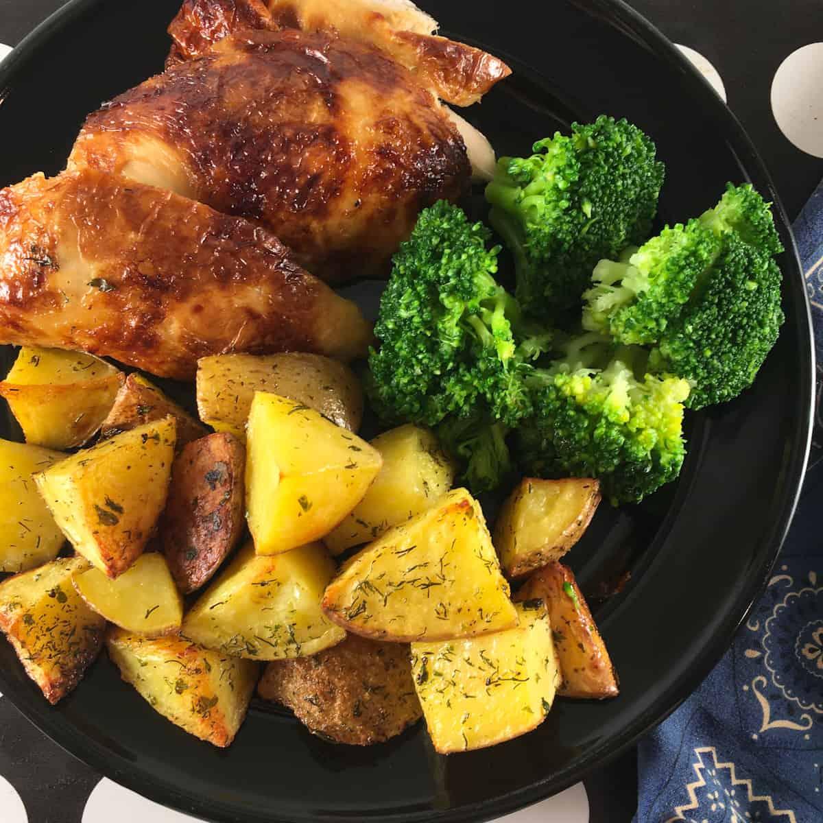 leftover rotisserie chicken air fryer meal