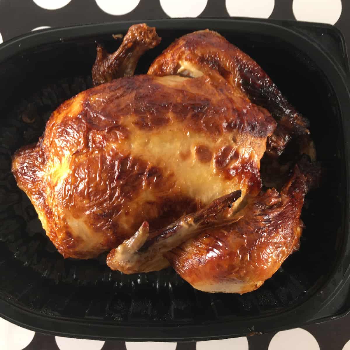 leftover rotisserie chicken air fryer