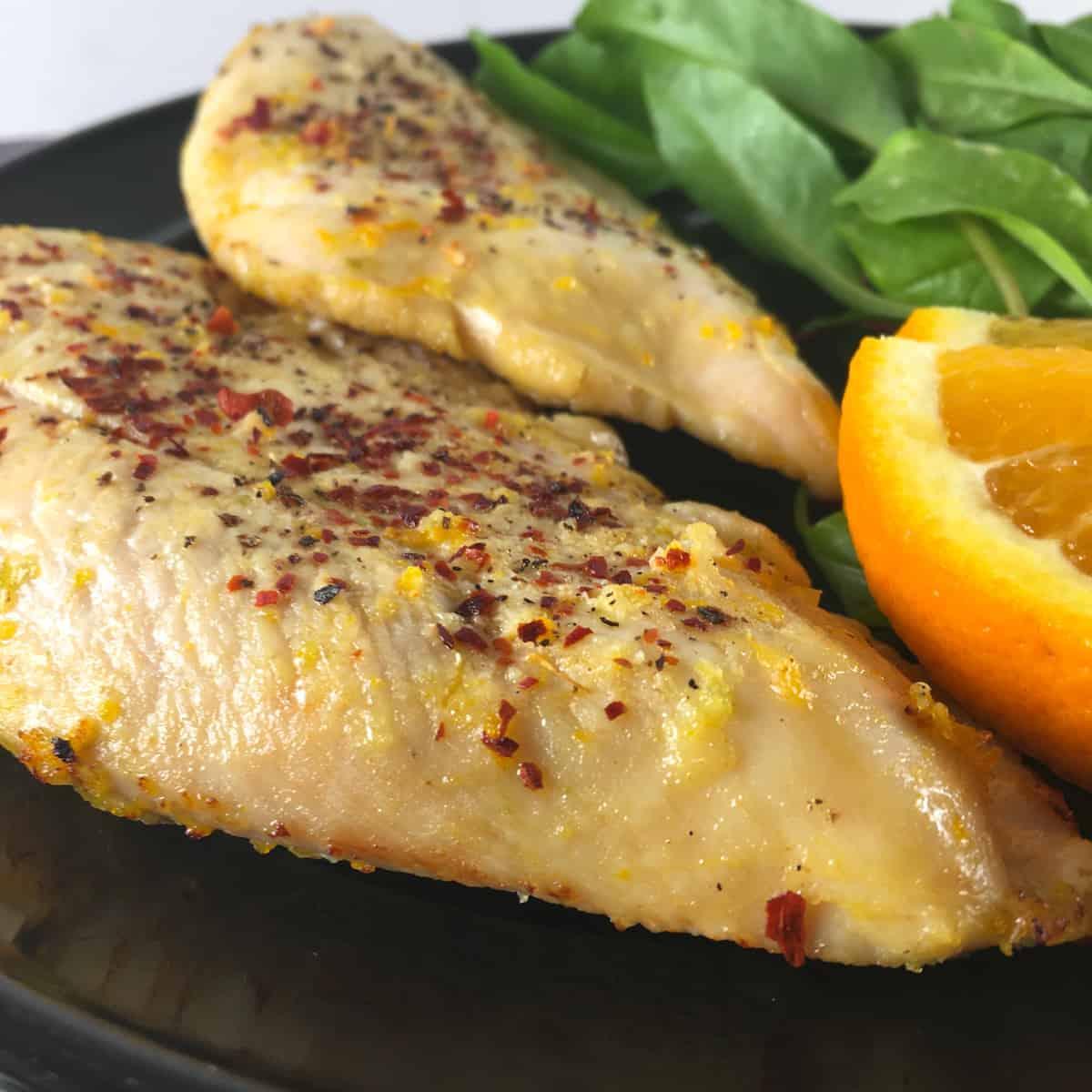 marinated chicken breast air fryer