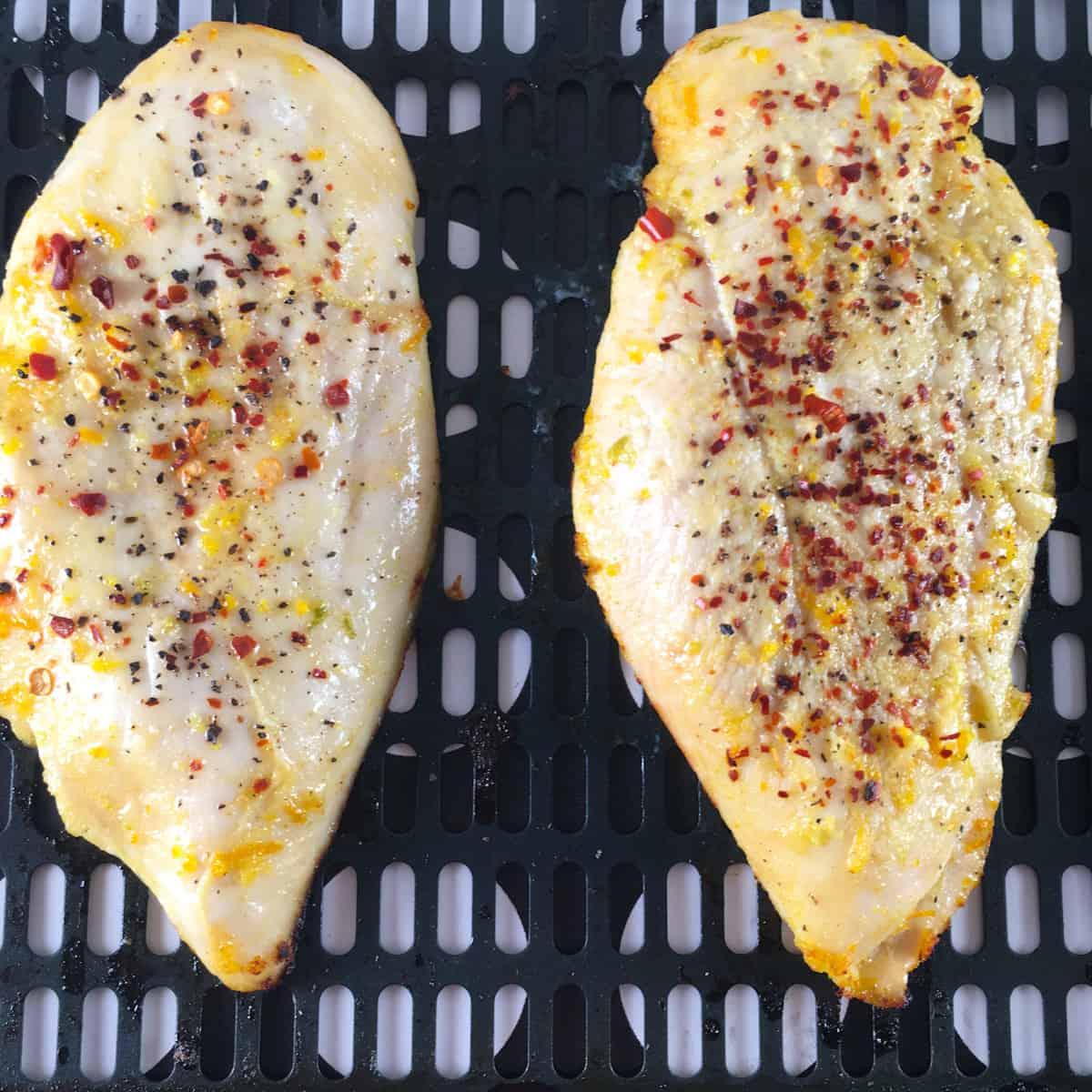 marinated chicken in air fryer