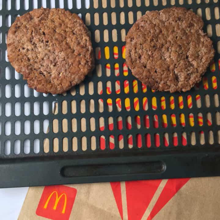 reheat mcdonalds burgers air fryer