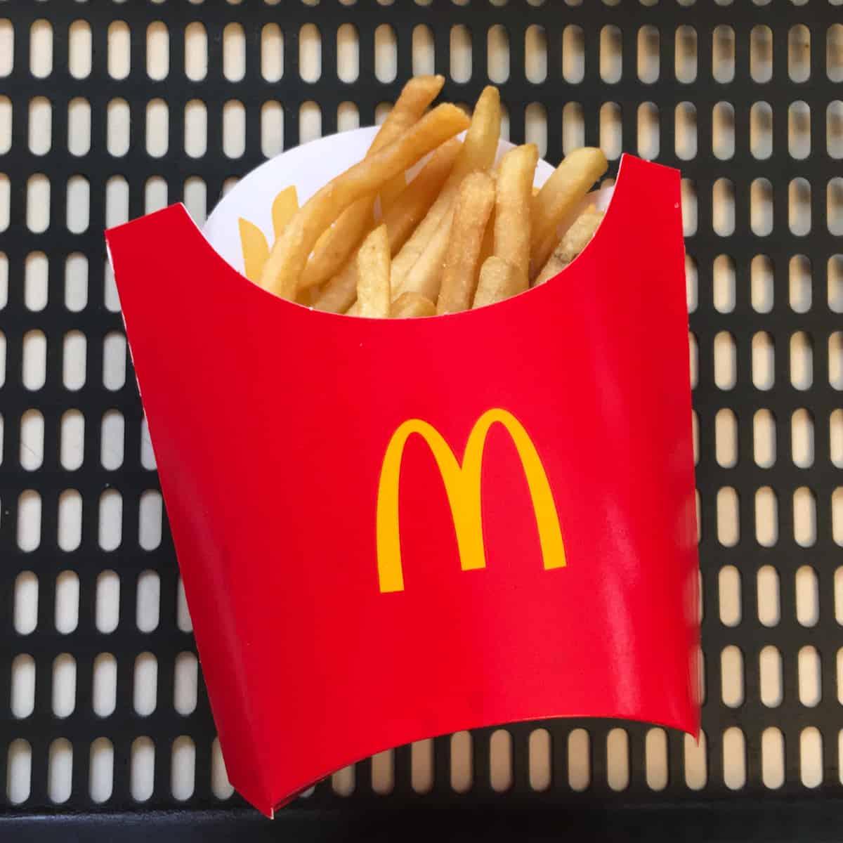 reheat mcdonalds french fries air fryer