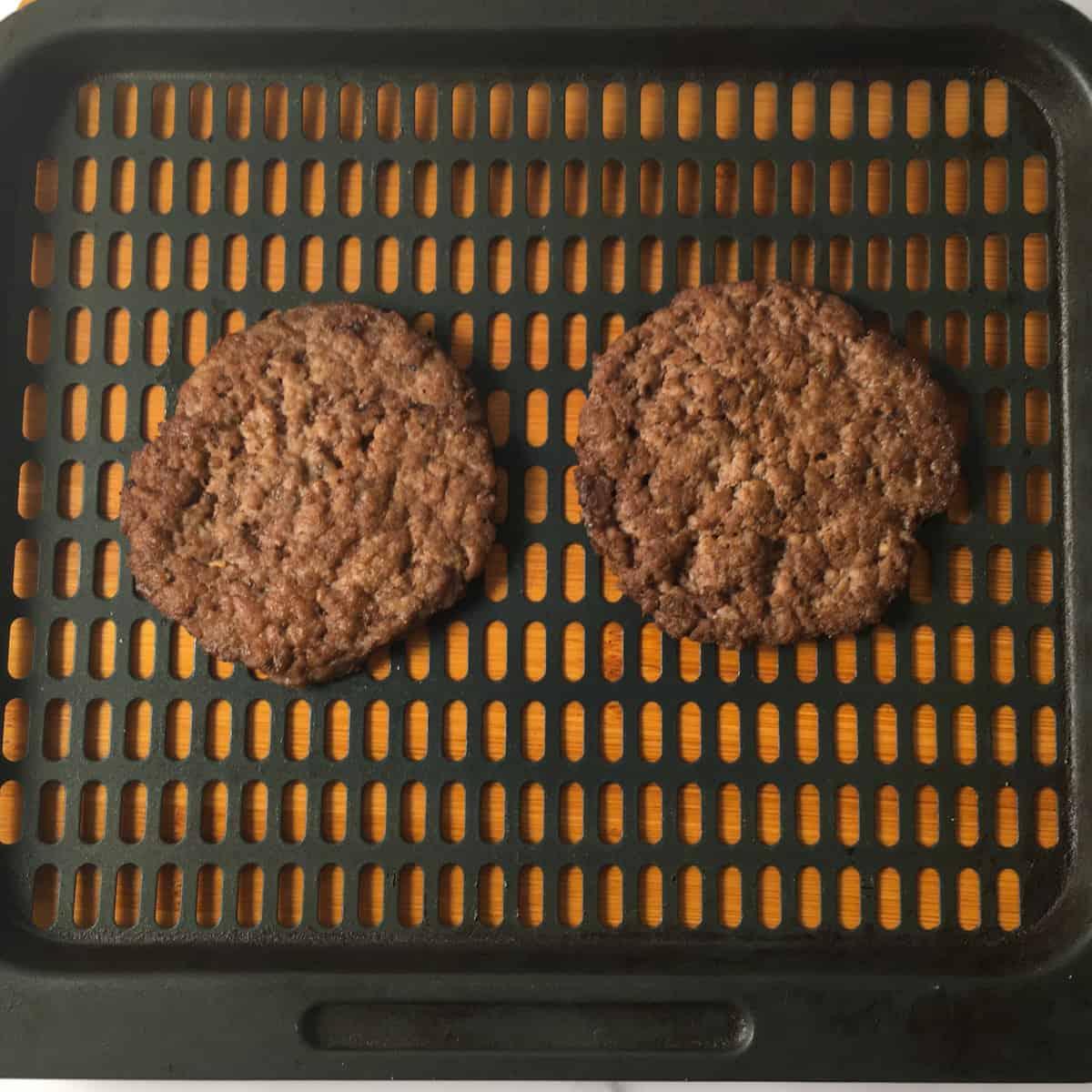 reheat mcdonalds hamburgers air fryer