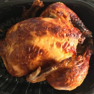 reheat rotisserie chicken air fryer