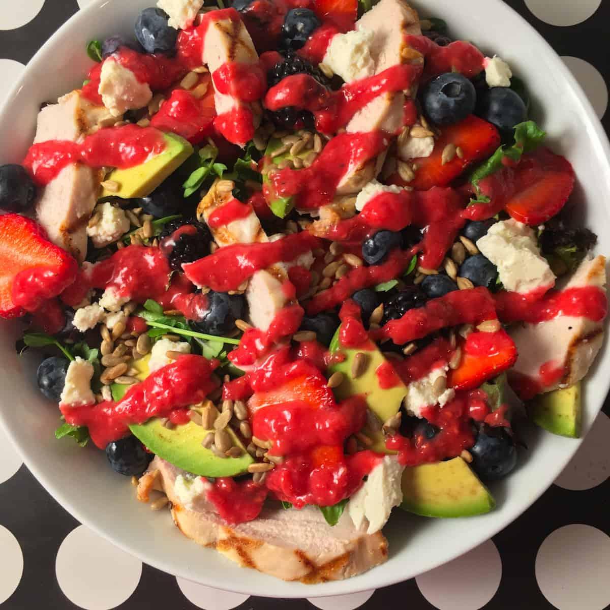 summer berry salad recipe