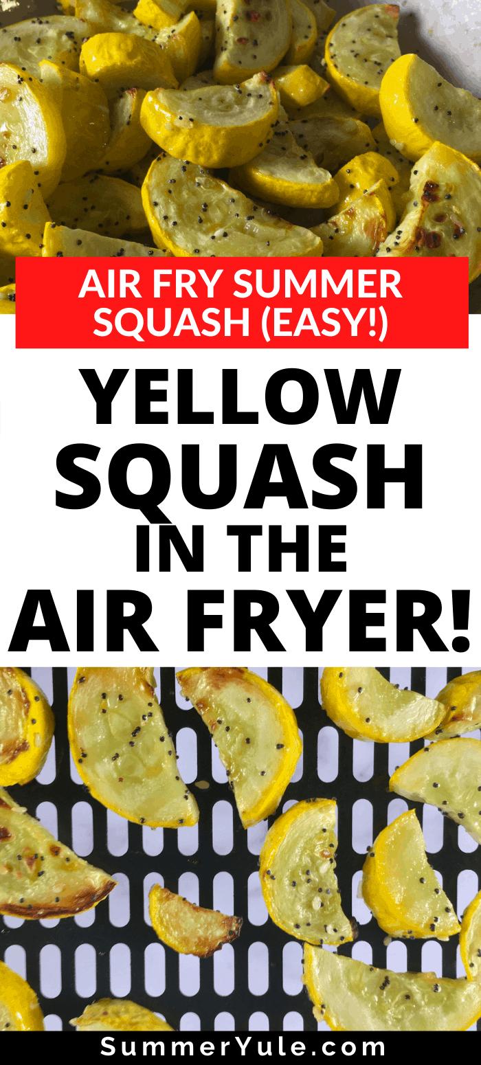 yellow squash air fryer