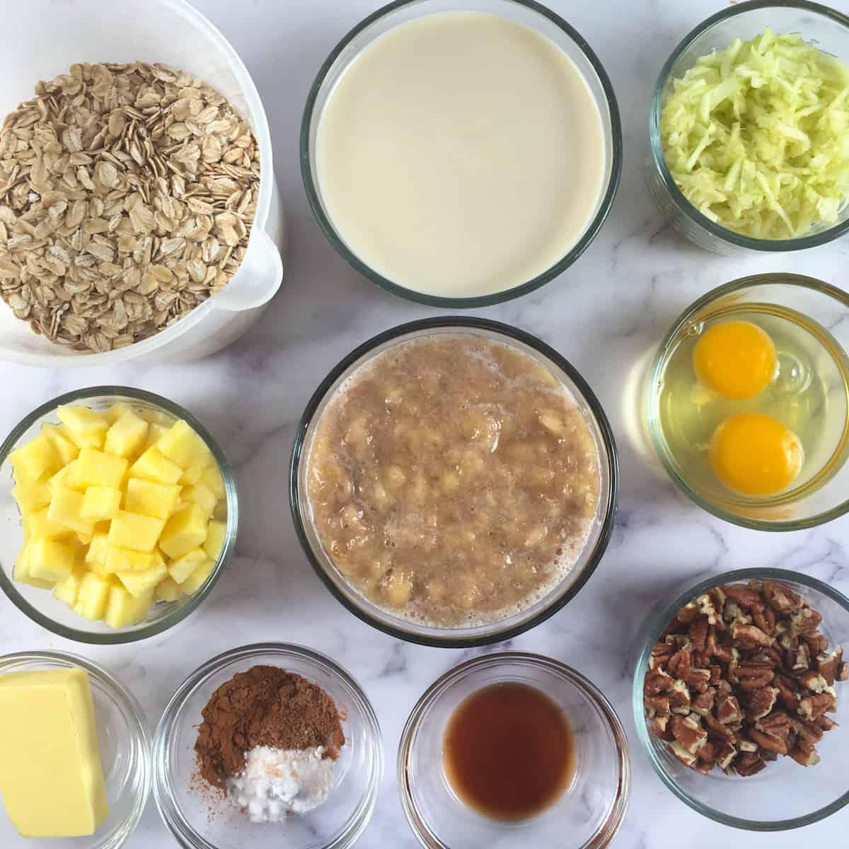 air fryer oatmeal ingredients