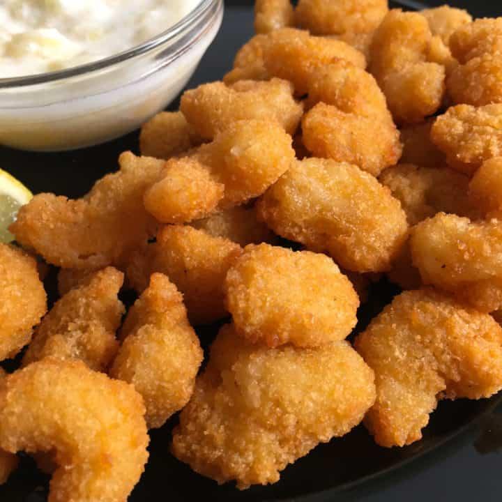 frozen popcorn shrimp in air fryer