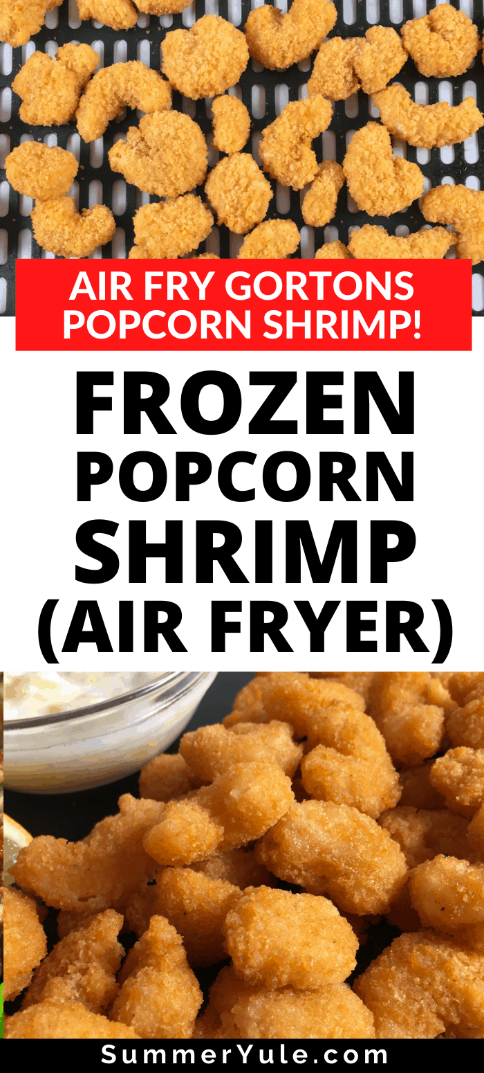 frozen popcorn shrimp in the air fryer