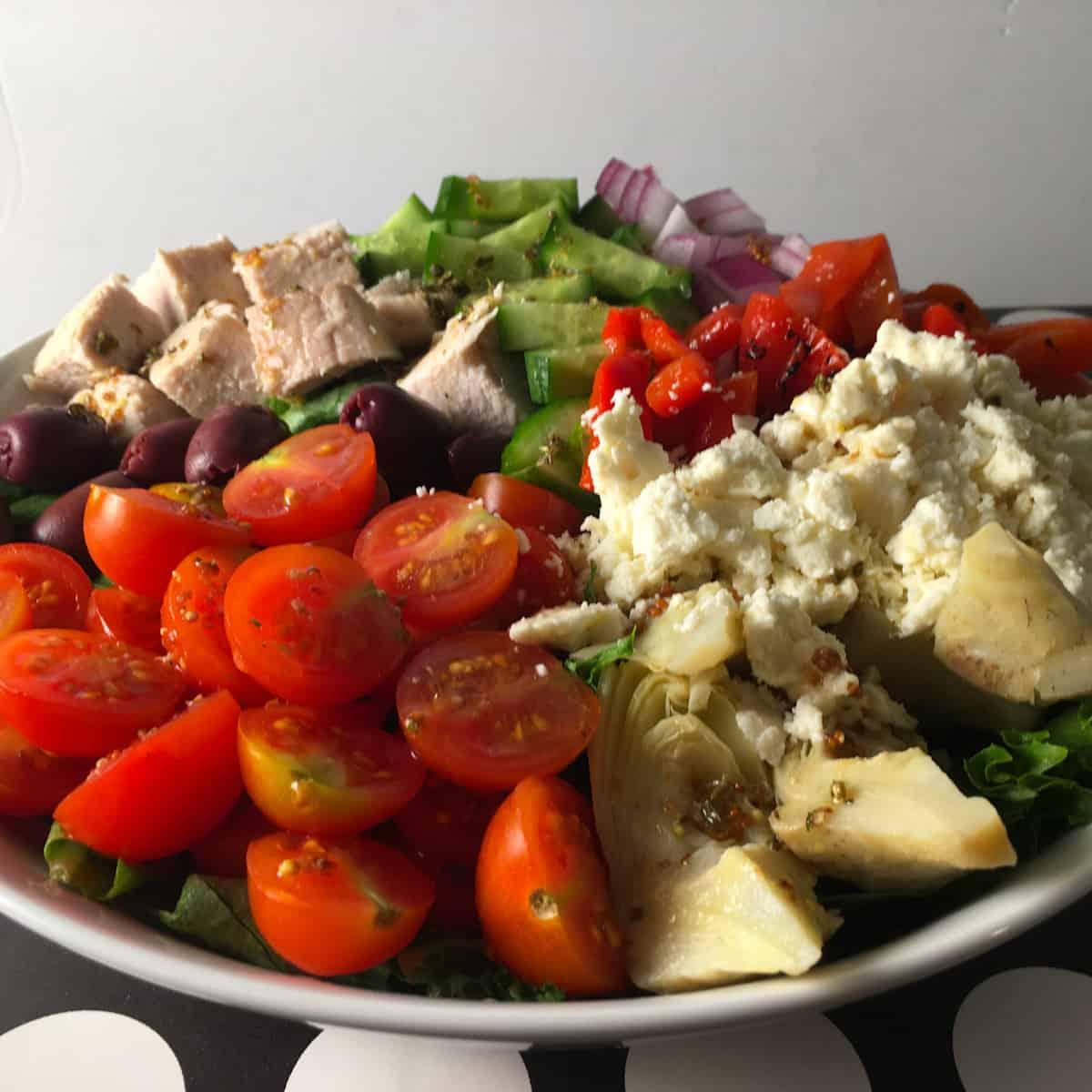 greek salad low carb