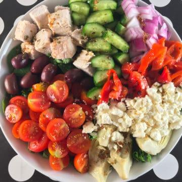 keto greek salad