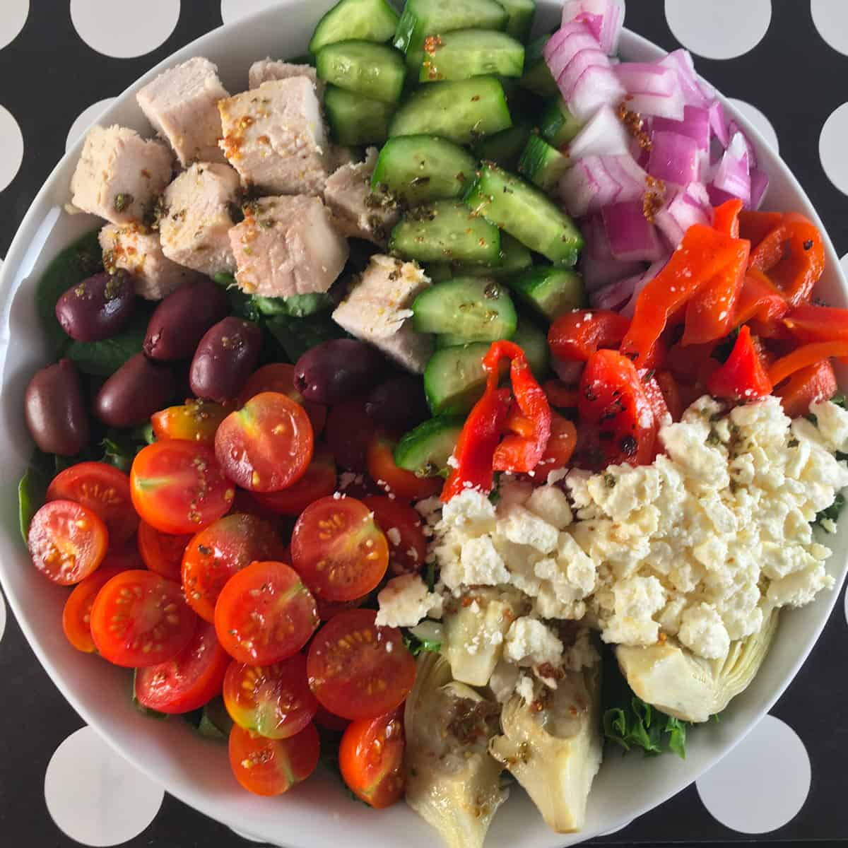 keto greek salad recipe