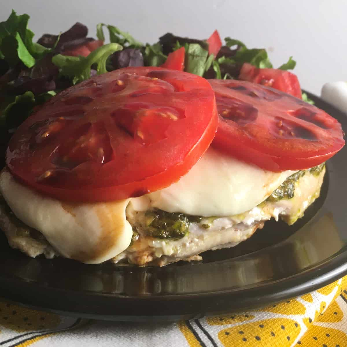 low carb caprese chicken