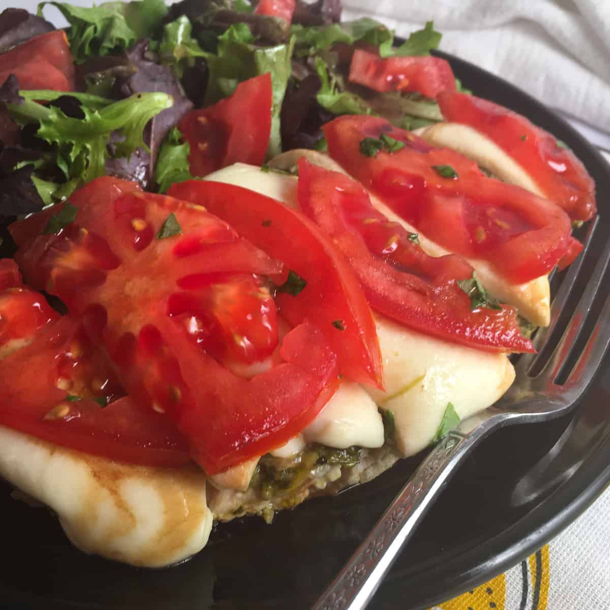 low carb chicken caprese