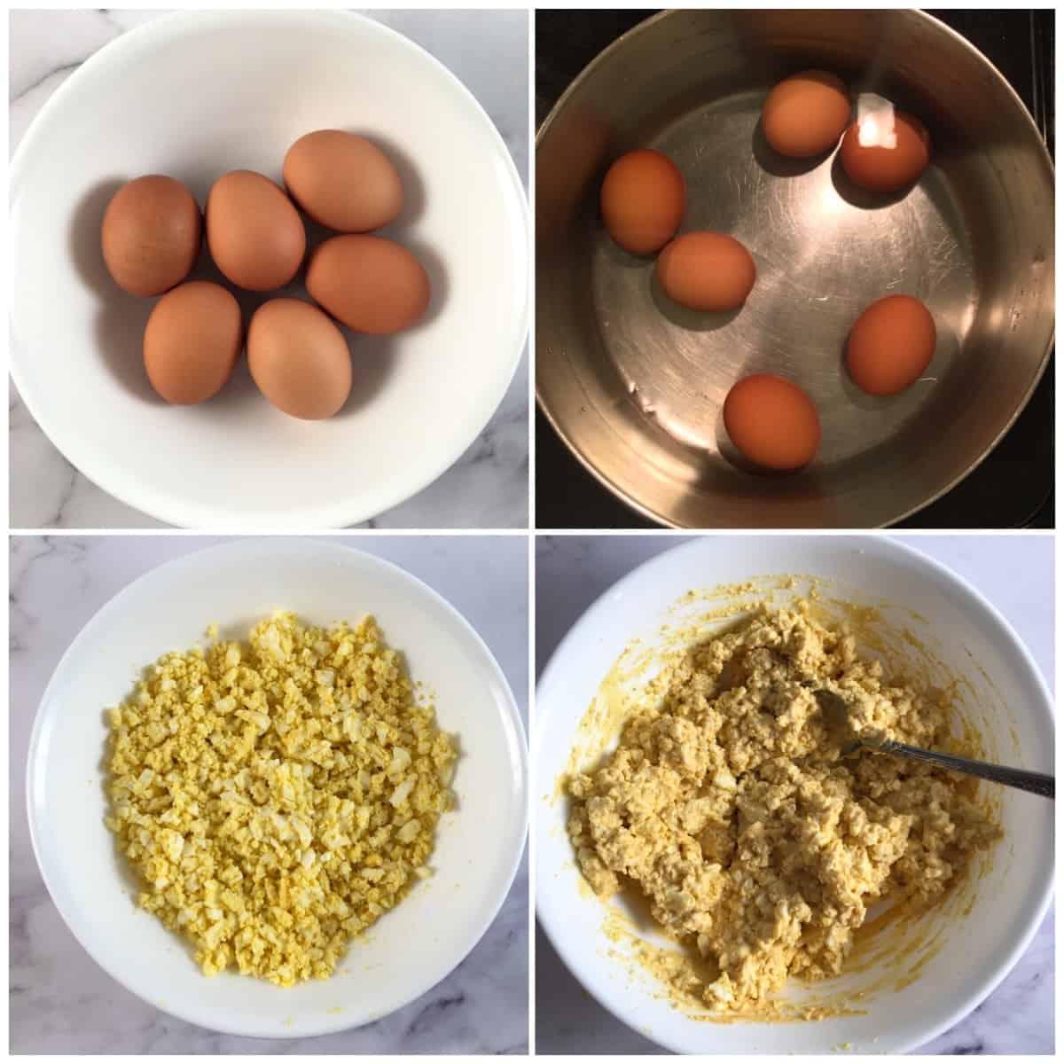 keto egg salad directions