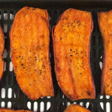 sweet potato toast air fryer